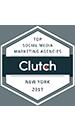 Clutch 2017 Social Media Award